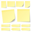 Yellow Stick Notes Collection - 75575004