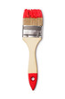 Paintbrush with red paint - 75575060