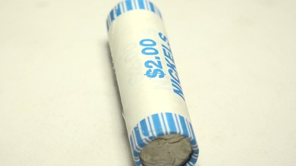 Roll of Nickel Coins