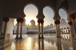 Leinwanddruck Bild - Sheikh Zayed mosque in Abu Dhabi,UAE, Middle East