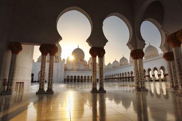 Meczet Sheikh Zayed, Abu Dhabi, Zjednoczone Emiraty Arabskie, Bliskim Wschodzie