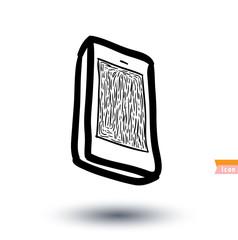 smart phone, vector illustration.