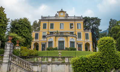 Villa Margherita at Como Lake in Italy