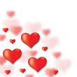 Obrazy na płótnie, fototapety, zdjęcia, fotoobrazy drukowane : Congratulatory background of Valentines day
