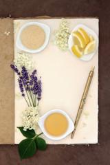 Lavender and Elderflower Champagne