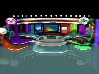 interior Stage Tv Studio Design-01
