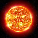 Fototapety sun planet