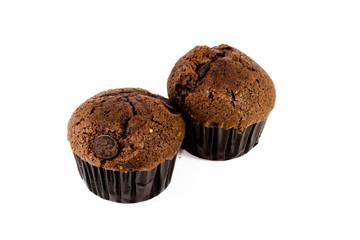 Frisch gebackener Schokoladenmuffin