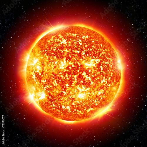 Fototapeta sun planet