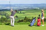 Zwei Golfer