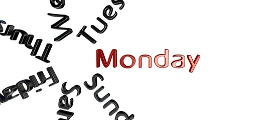 Dia de la semana Monday
