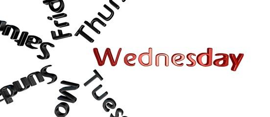Dia de la semana Wednesday