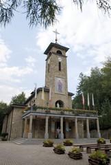 Catholic church sanctuary in Szczyrk village