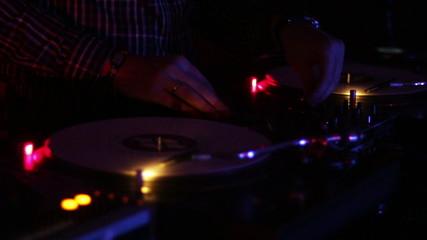 Dj at the disco