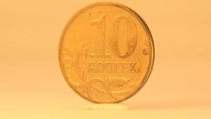Russian Ten Rubles