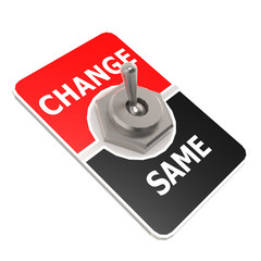 Change toggle switch