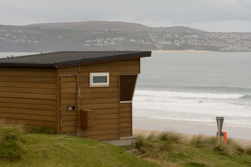Lifeguard hut closed for winter