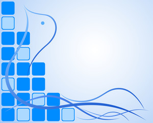 Abstract Blue peace background