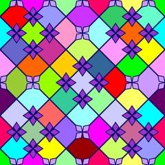 Varicoloured pattern