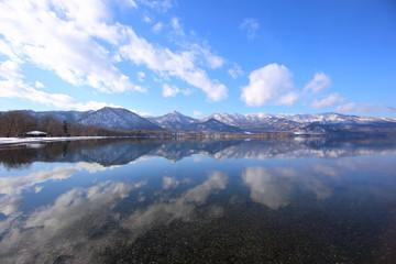 屈斜路湖和琴半島