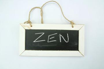 ardoise zen