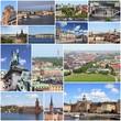 Stockholm, Sweden - photo collage