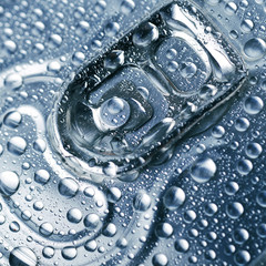 wet aluminium can