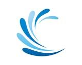 splash water logo template
