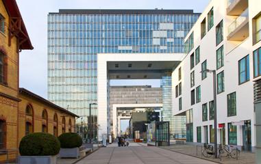 Rheinauhafen im modernen Köln