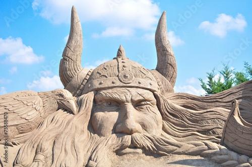 canvas print picture Sand sculptures