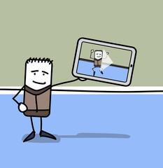 Tablette tactile et vidéo