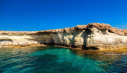 Sea Caves near Cape Greco