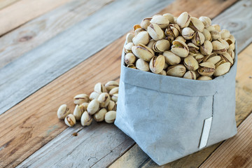 sacchetto di pistacchi