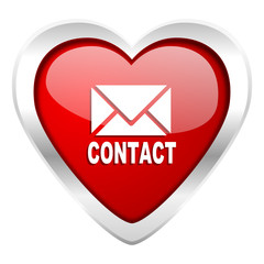 email valentine icon contact sign