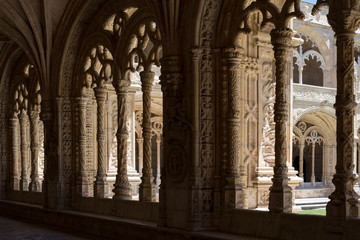 Arcade in the Jerónimos Monastery