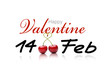 canvas print picture - Happy Valentine