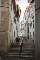 Stairs in Alfama, Lisbon