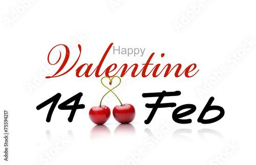 canvas print picture Happy Valentine
