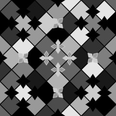 Black and grey pattern