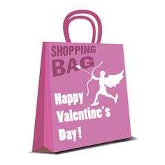Valentine shopping bag