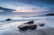 Pentewan Sands in South Cornwall