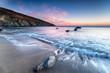 Hemmick Beach on the Cornwall coast near Boswinger