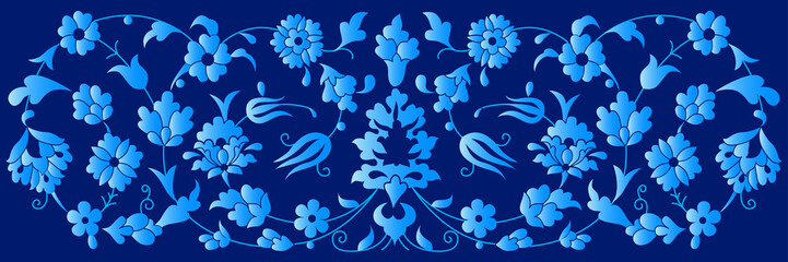 artistic ottoman pattern series fourty three