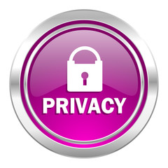 privacy violet icon