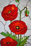 Stained glass painting - 75596226