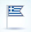 Obrazy na płótnie, fototapety, zdjęcia, fotoobrazy drukowane : Flag set of greece, vector illustration