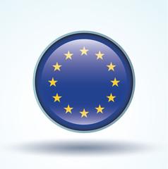 Flag set of europe, vector illustration