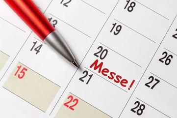 Messe - Termin