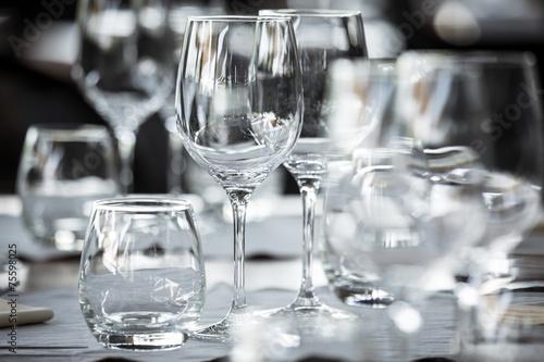 In de dag Buffet, Bar Elegant table set