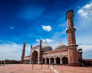 Jama Masjid largest muslim mosque in India. Delhi